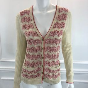 Sparrow M Not Your Boyfriends Cardigan Red E5